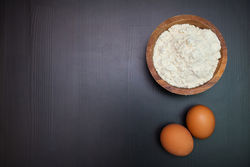 Baking soda and Egg white for unwanted face hair
