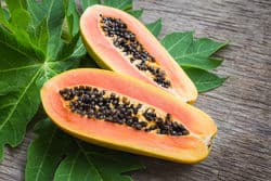 papaya best for acne