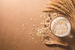 oats and milk for home remedies dry and wrinkle hands